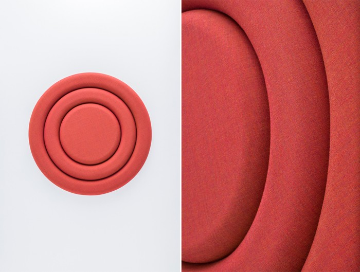 Mute Design Rings Wall Mounted Acoustic Panel Sound Absorption