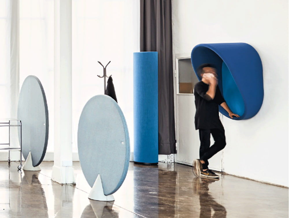 MuteDesign Wall Mounted Acoustic Phone Booth