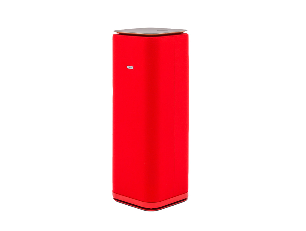 MuteDesign Tower Freestanding Cubic Acoustic Column with Wireless Phone Charger