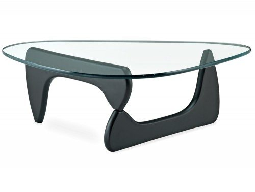 Noguchi Style Elite Coffee Table in Black Ash