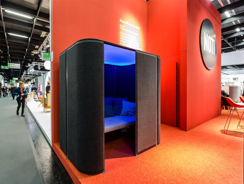 Noti SoundRoom Office Relaxation Pod with Blue Light