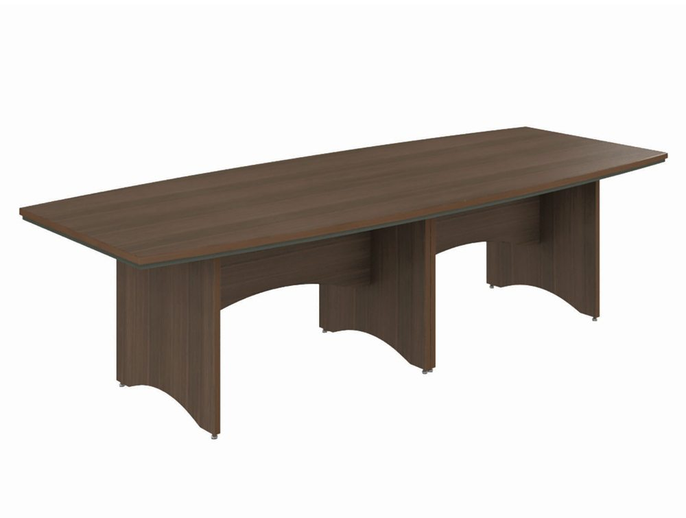 Opus Boardroom Table Medium in Chestnut