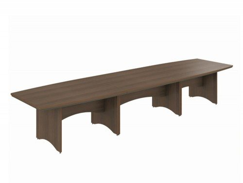 Boardroom Table Dark Walnut 4200mm