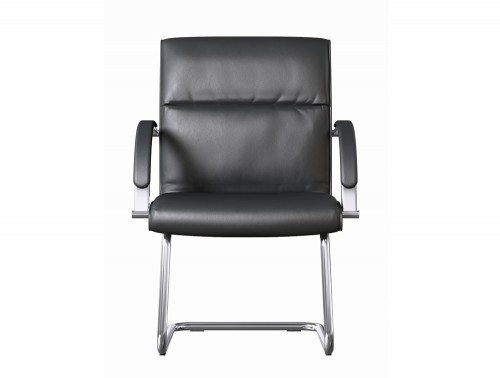 O On Black Leather Boardroom Chair 4 Jpg