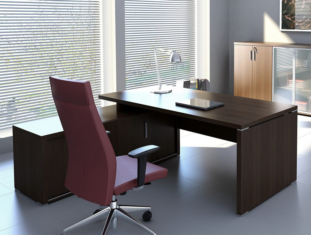 O Quando executive desk credenza retrurn