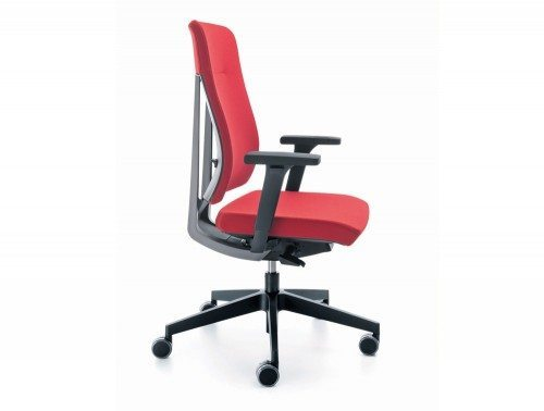 O xenon ergonomic office chair side angle