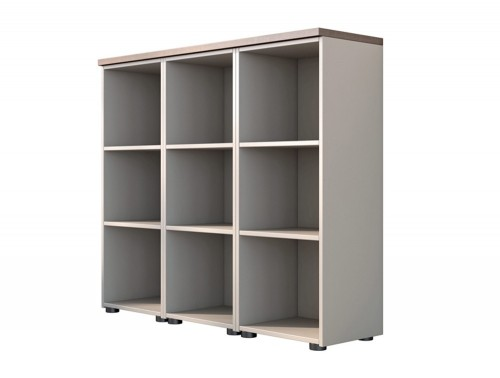 Buronomic Column Storage Bookcases with Structurex Top