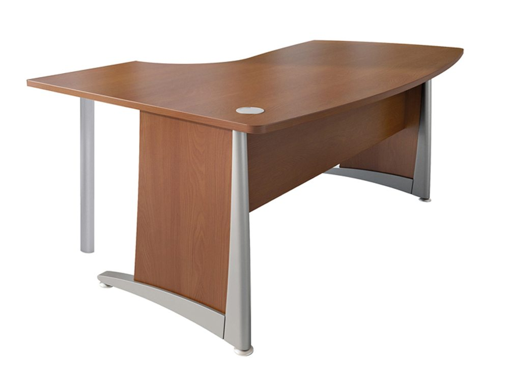 Buronomic L2 Compact Manager Desk with Support Leg