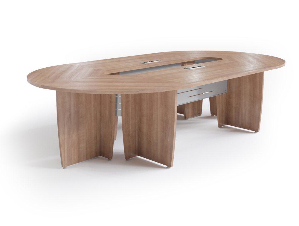 Buronomic Success Meeting Room Oval Table - Havana