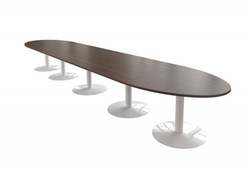 Buronomic Modular Table with Trumpet Leg and Extension