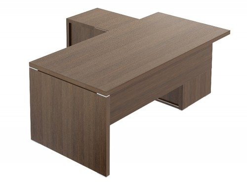 Quando executive desk credenza retrurn