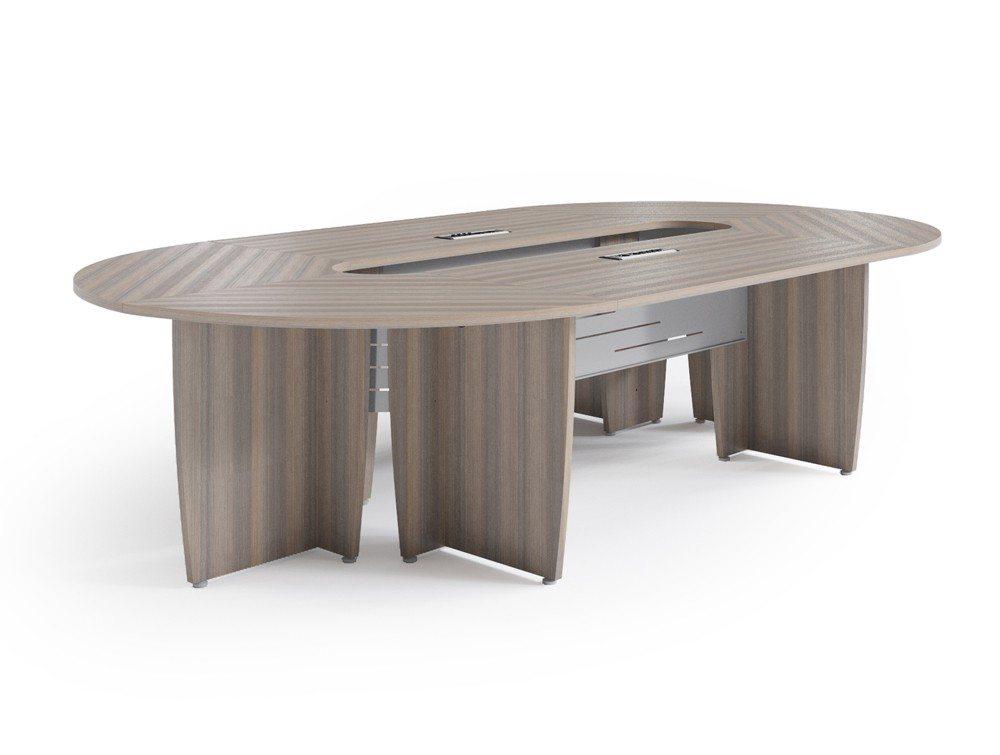 Buronomic Success Meeting Room Oval Table - Cedar