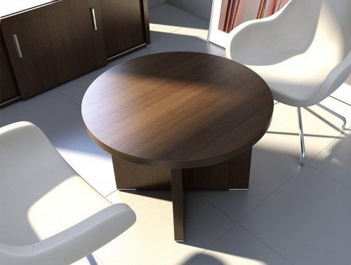 Quando meeting table with panel base