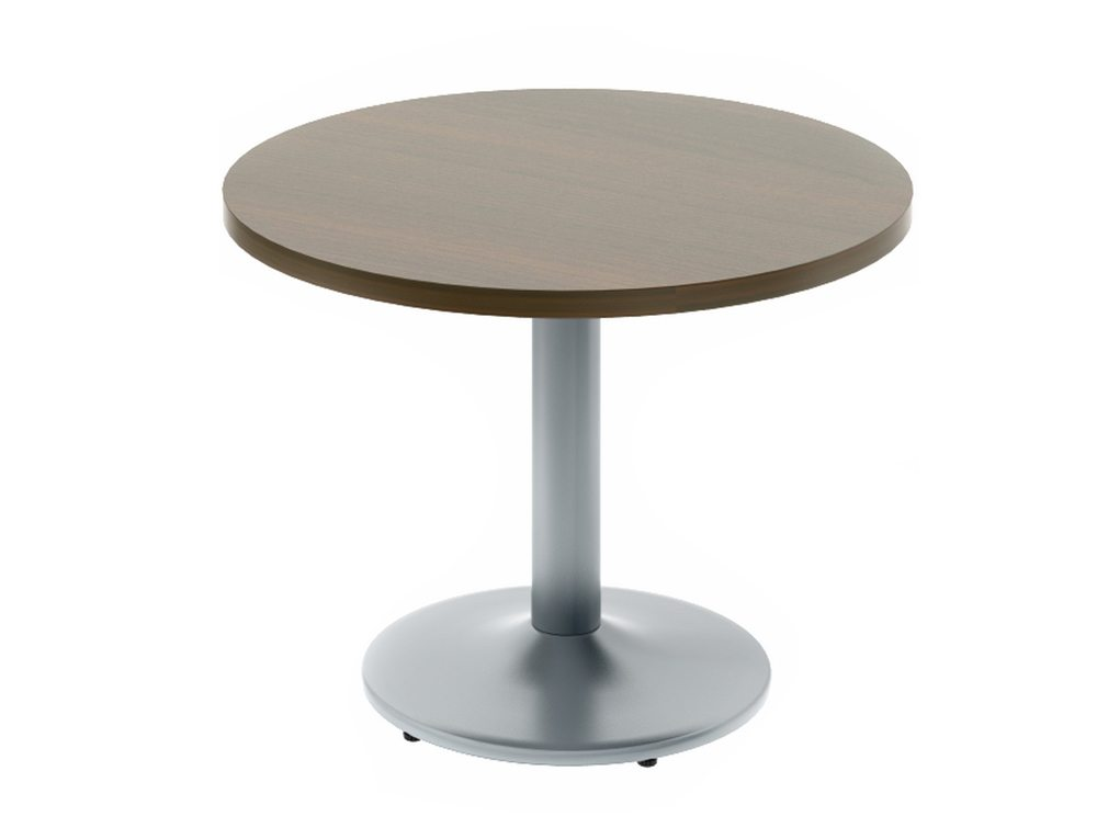 Quando Meeting Table With Metal Base Round Tables