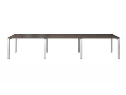 Buronomic Rectangular Boardroom and Meeting Room Modular Table