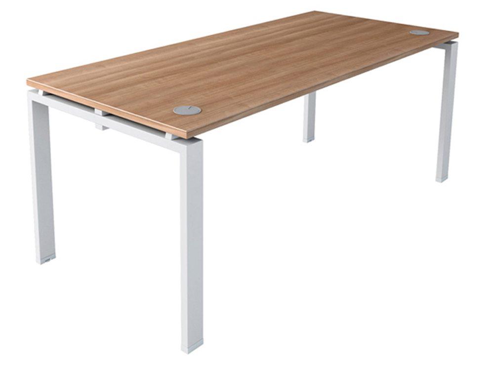 designer fashion 01e15 b4ee4 Buronomic A2 Straight Desk Single Workstation
