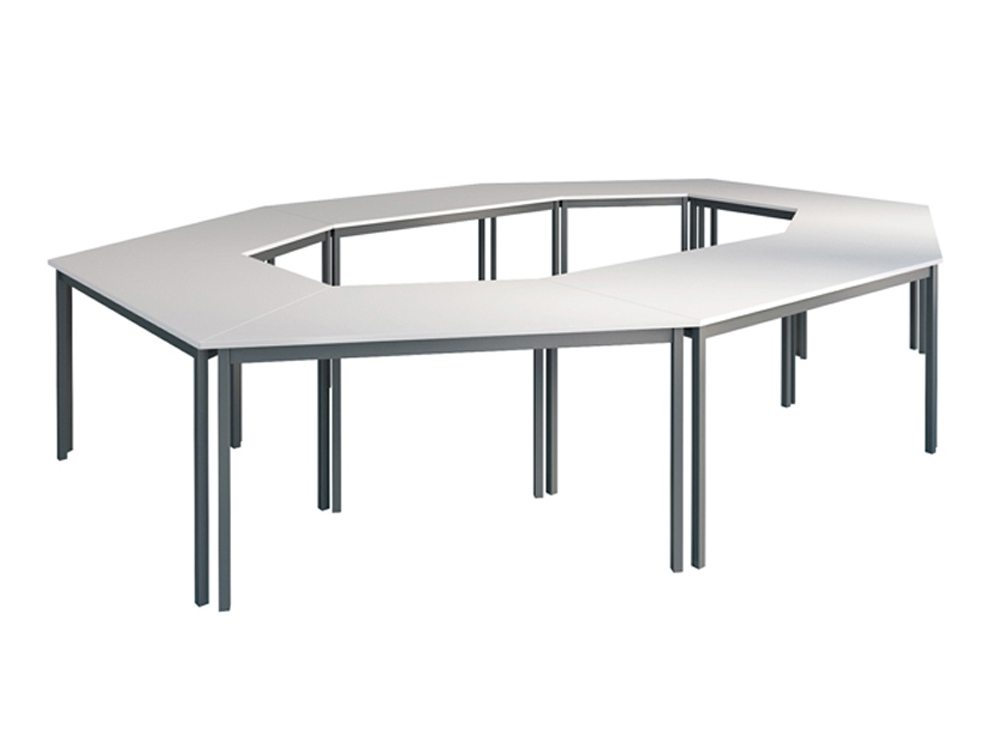 Buronomic Straight and Trapezoidal Multipurpose Tables