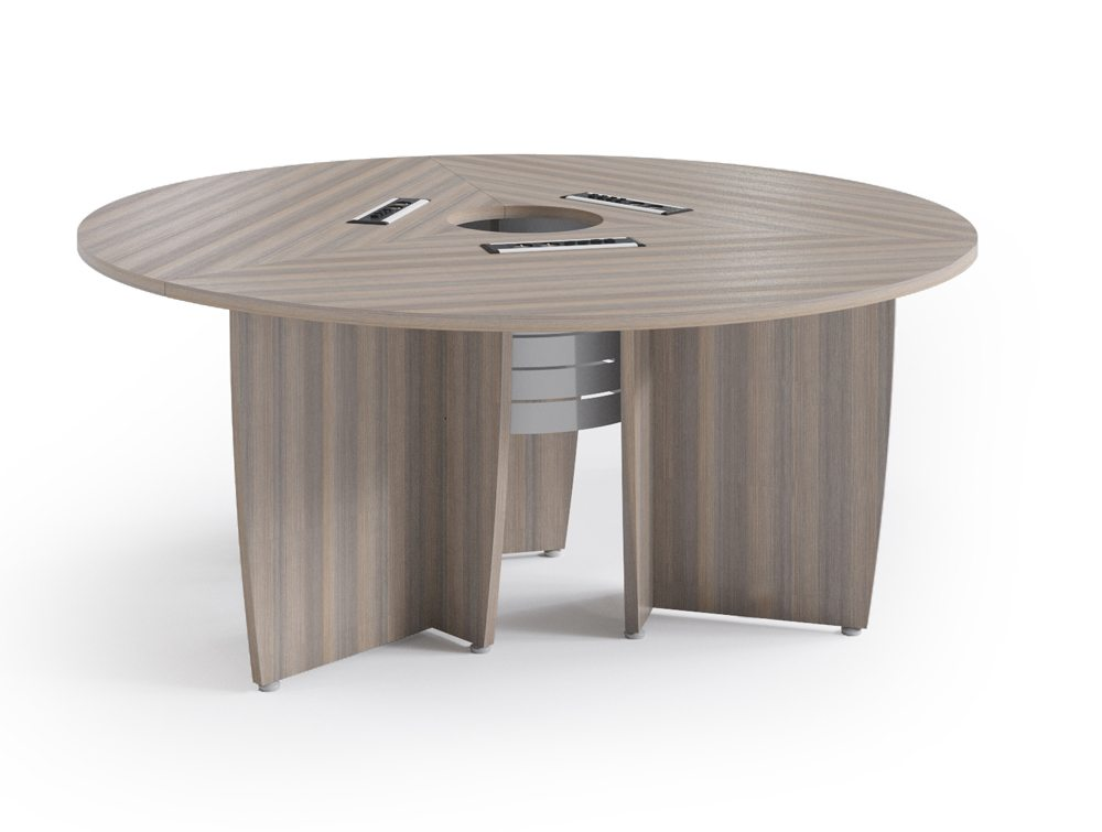 Buronomic Success Meeting Room Round Table In Cedar