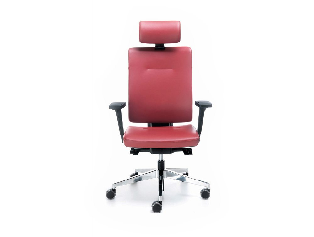 Profi Xenon Adjustable Ergonomic Chair with Headrest in Leather
