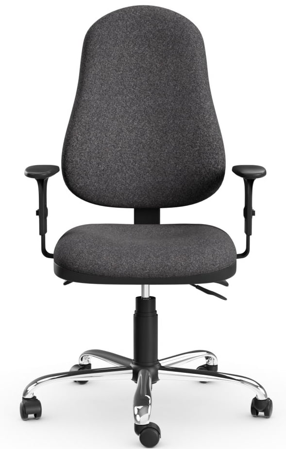 OE Task Operator Grey Fabric Computer Chair