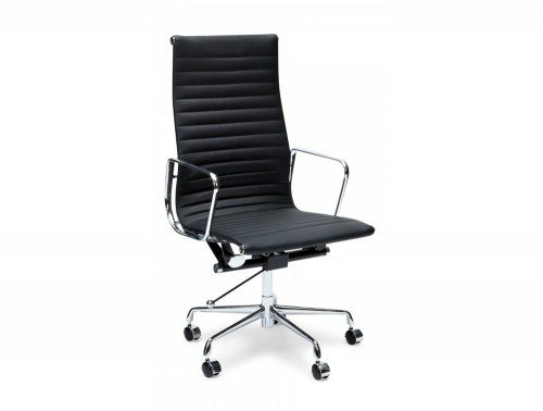 OI-6831 Eames Style Executive High-back Ribbed Chair