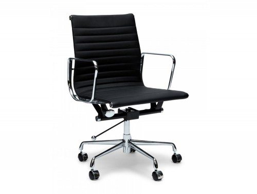 OI-6833 Eames Style Boardroom Mid-back Ribbed Chair