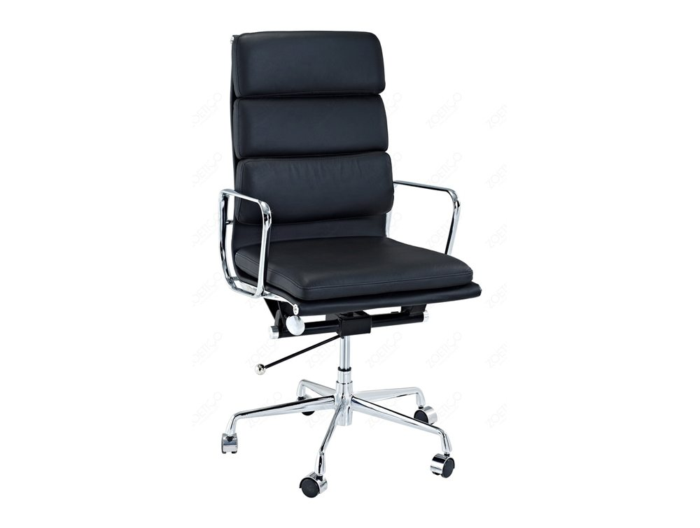 Eames Style Executive High-Back Soft Pad Chair