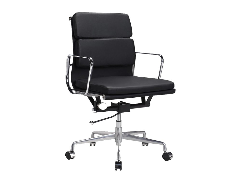 Eames Style Boardroom Mid-back Soft Pad Chair