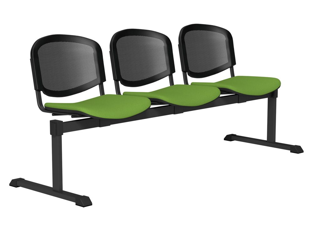 OI Series Bench Mesh Backrest BLK-3P-E051-TKMS1 in E051 Green