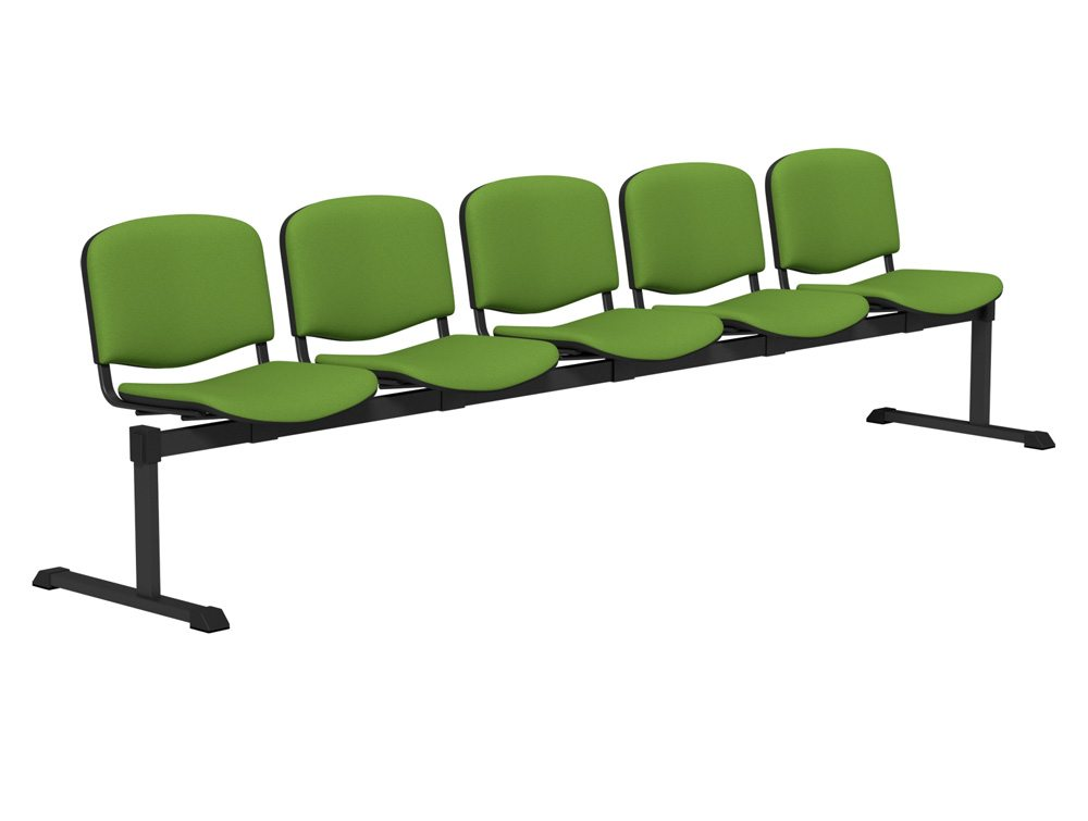 Oi Series Bench With Upholstered Seating Visitor Beam