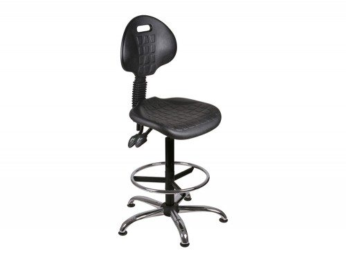O.L Series High Rise PU Static Swivel Chair