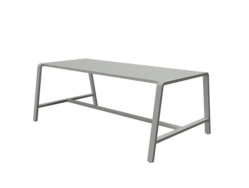 Osti Canteen Indoor and Outdoor Table for Kitchen Area in Grey