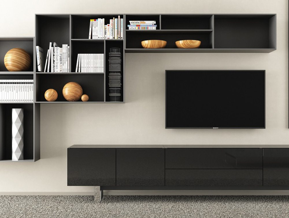 Ostin Executive Living Room Cabinets and Drawers
