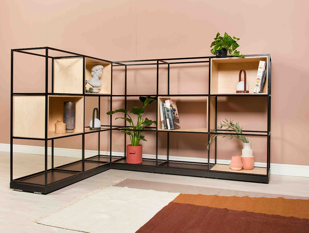 Palisades-Metal-Grid-Room-Dividers-Space-Bookcase-with-Alcove