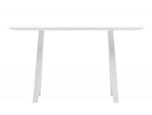 Pedrali Arki Rectangular High Table with Steel Trestle Legs