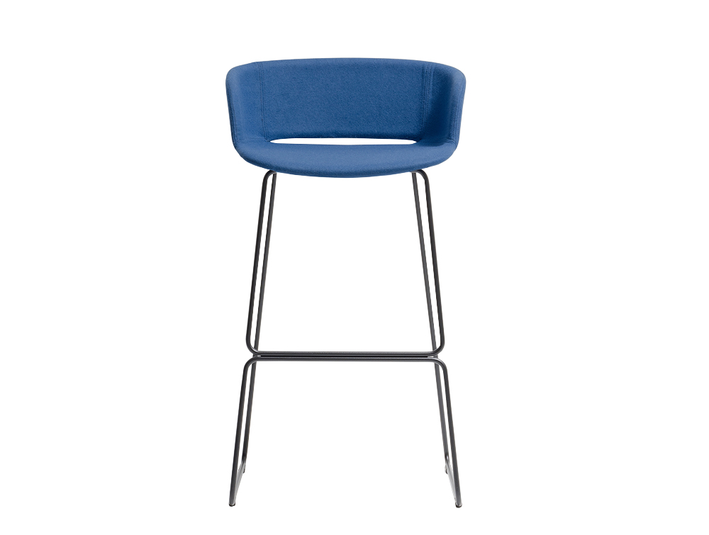 Pedrali Babila Stool with Backrest