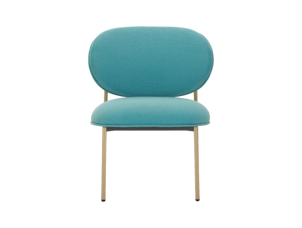 Pedrali Blume Upholstered Fabric Easy Chair