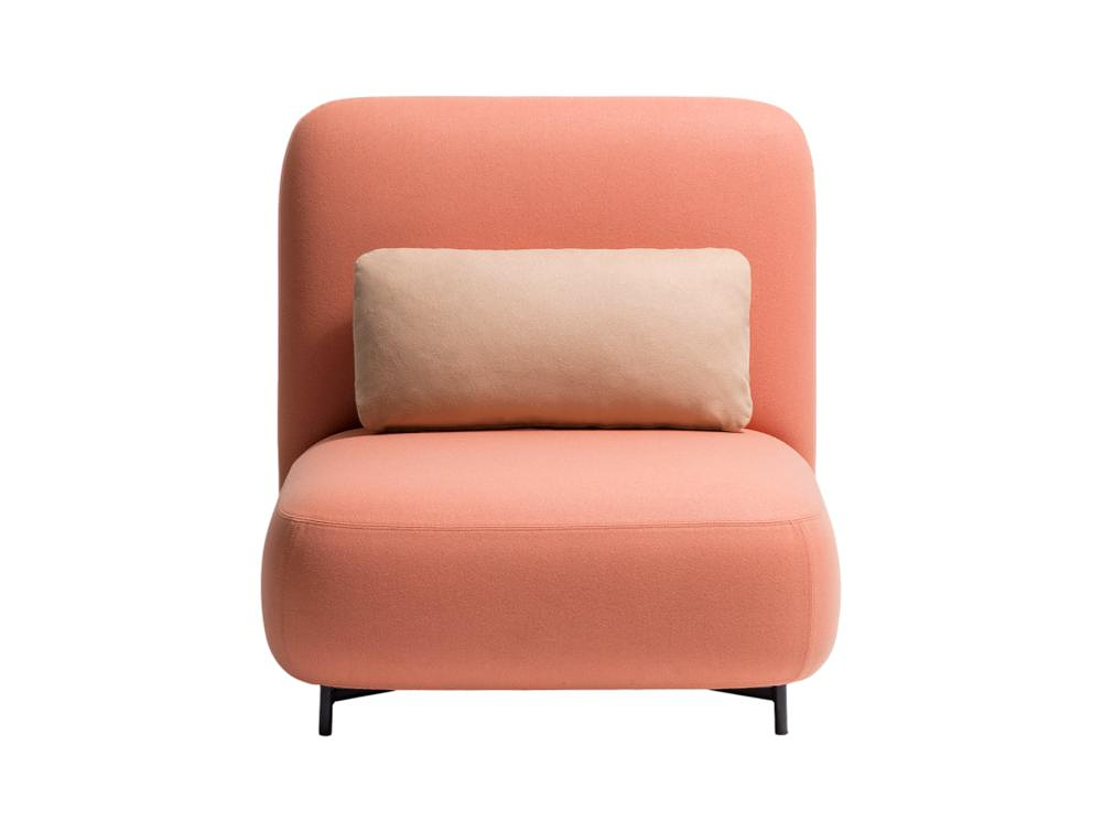 Pedrali Buddy Upholstered Fabric Lobby Chair