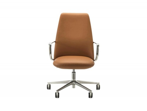 Pedrali Elinor Executive Chair with Five-Spoke Base