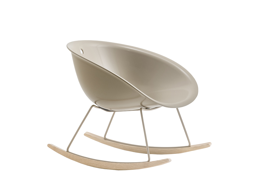 Pedrali Gliss Swing Lounge Armchair