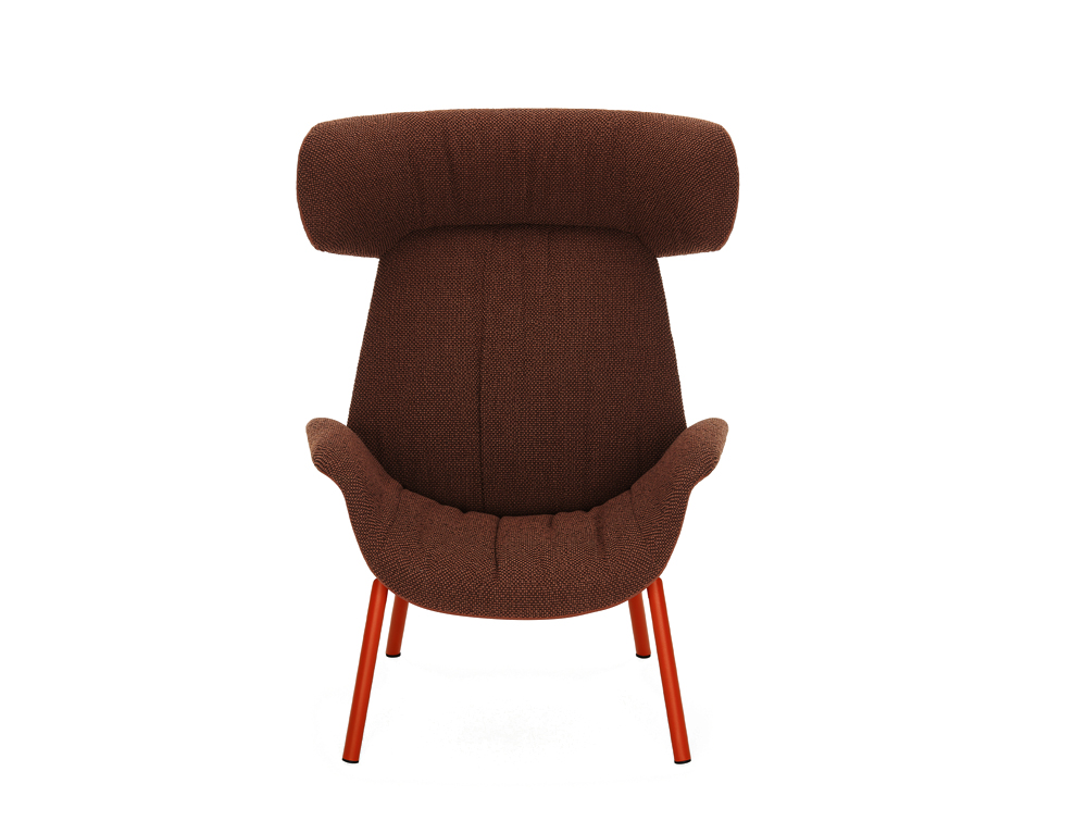 Pedrali Ila Upholstered Armchair with Headrest