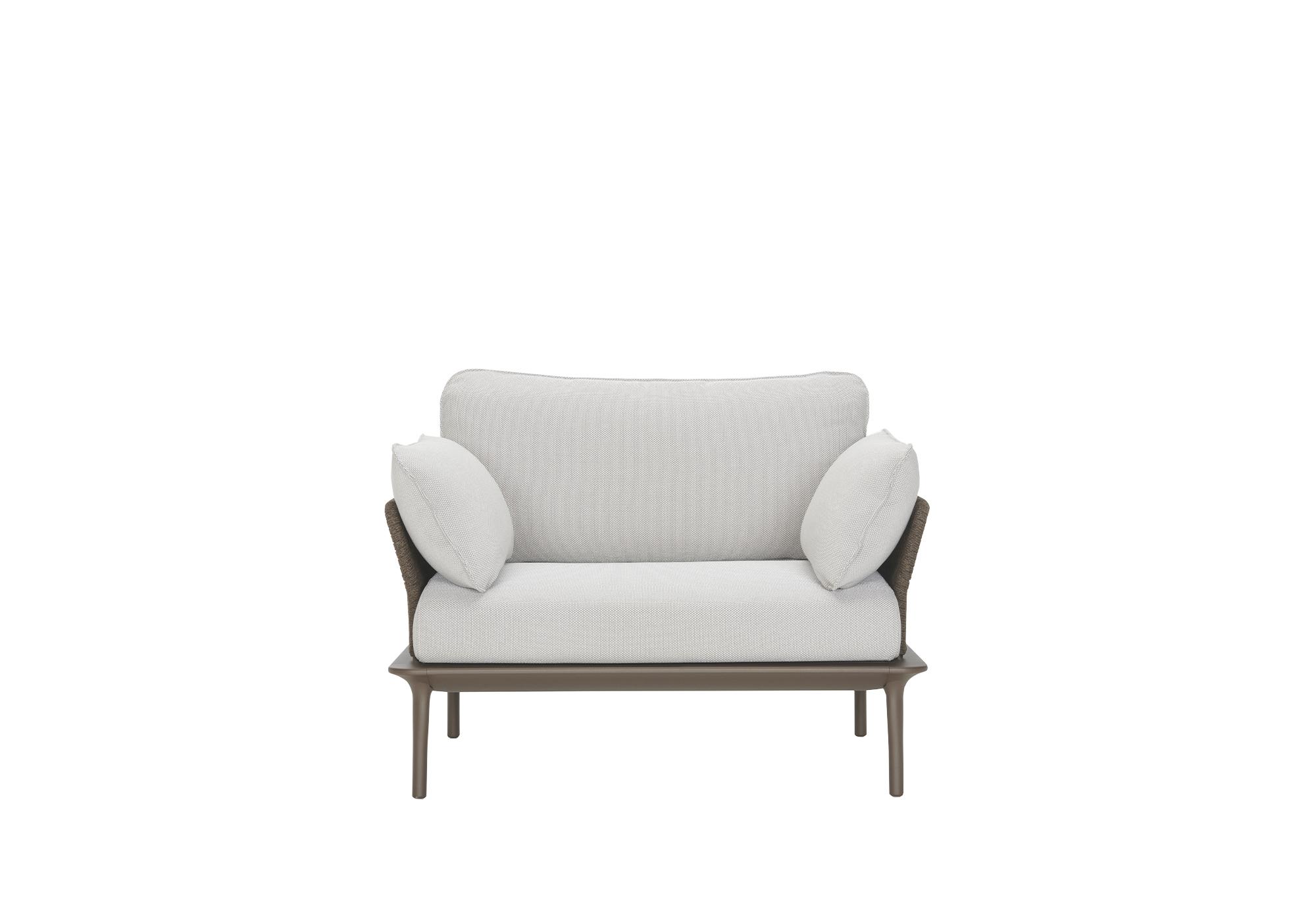 Pedrali Reva Twist Lounge Outdoor Armchair