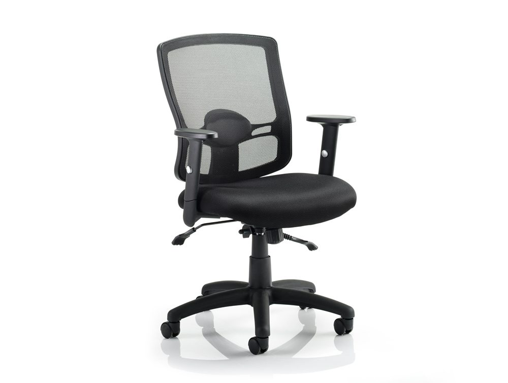 modern furniture mesh eurway view chair side black ede office