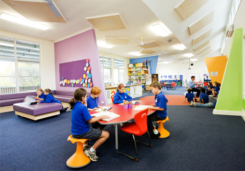 Primary School Furniture with Working Space Table Ergonomic Seating Reading and Playing Area