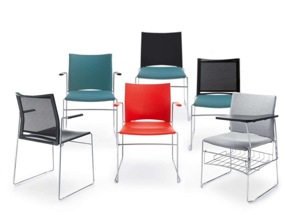 Profim ariz stackable seating different colours