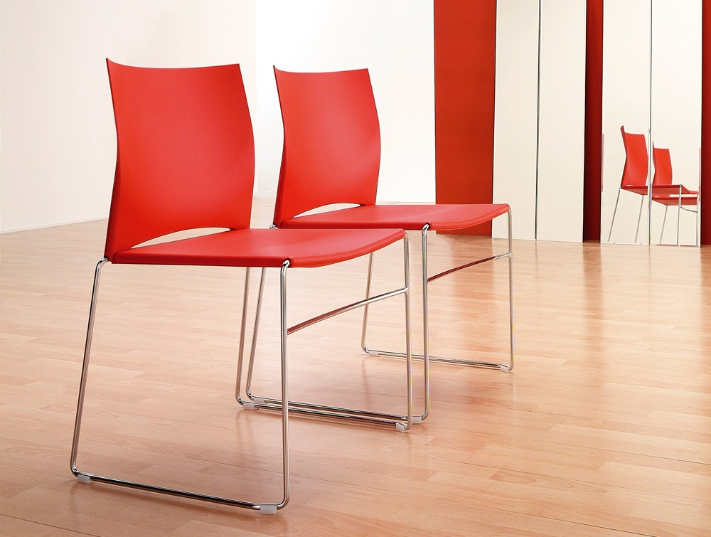 Profim ariz stackable red seating