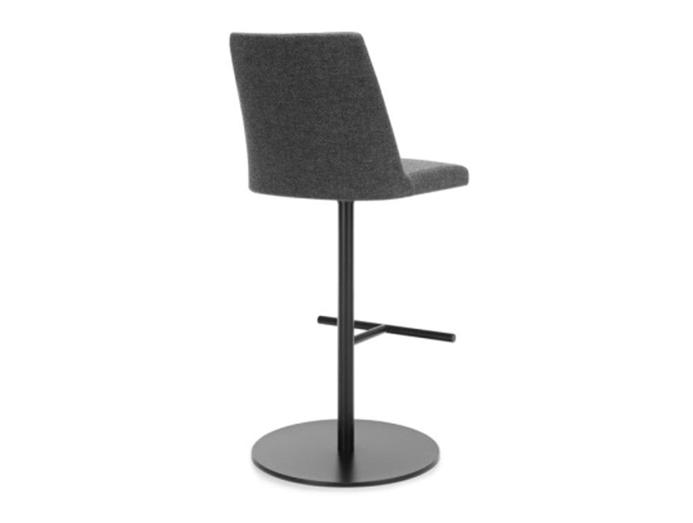 Profim Chic Bar and Canteen High Stool with Round Base in Grey