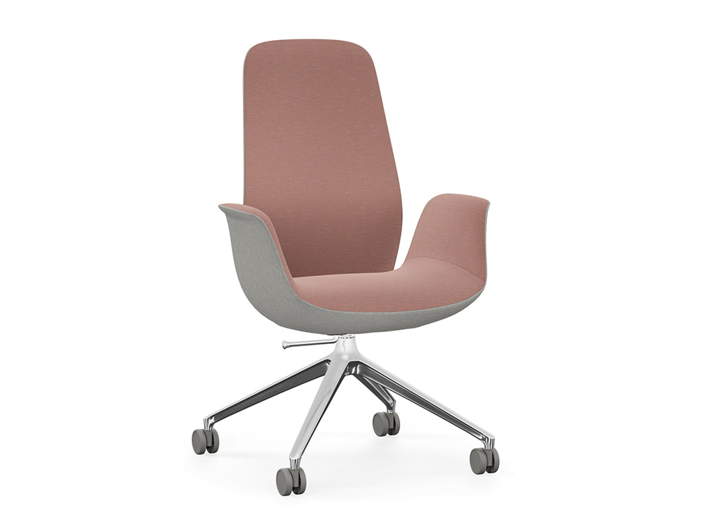 Profim Ellie Swivel Office Armchair with 4-Star Base