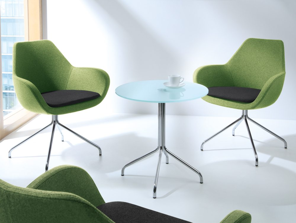 Profim Fan Armchair in Green