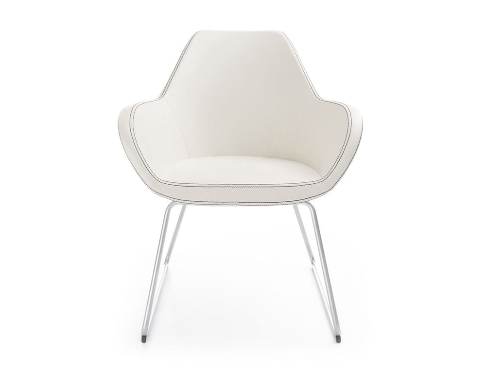 Profim Fan Armchair in White